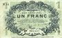 Banknotes Lille (59). Ville. Billet. 1 franc 15.12.1917, série N