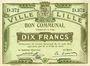 Banknotes Lille (59). Ville. Billet. 10 francs 31.8.1914, série D