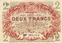 Banknotes Lille (59). Ville. Billet. 2 francs 15.12.1917, série J