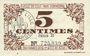 Banknotes Lille (59). Ville. Billet. 5 cmes 31.10.1917, série B