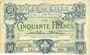 Banknotes Lille (59). Ville. Billet. 50 francs 15.12.1917, série I