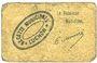 Banknotes Luchon (31). Ville et Canton. Billet. 10 centimes