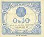 Banknotes Lyon (69). Chambre de Commerce. Billet. 50 centimes 29.7.1920, 24e série