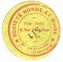 Banknotes Lyon (69). Société Horme et Buire. Billet. 20 centimes