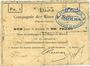 Banknotes Marles (62). Compagnie des Mines de houille. Billet. 1 franc 10 sept 1914