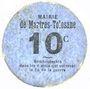 Banknotes Martres-Tolosane (31). Mairie. Billet. 10 centimes