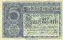 Banknotes Mulhouse (68). Ville. Billet 5 mark 15.10.1918. Non annulé
