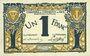 Banknotes Nice (06). Chambre de Commerce. Billet. 1 franc 25.4.1917, série 31