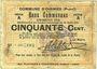 Banknotes Oignies (62). Commune. Billet. 50 centimes 30.8.1914, série A