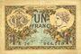 Banknotes Paris (75). Chambre de Commerce. Billet. 1 franc 10.3.1920, série A.26