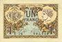 Banknotes Paris (75). Chambre de Commerce. Billet. 1 franc 10.3.1920, série A.28