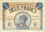 Banknotes Paris (75). Chambre de Commerce. Billet. 2 francs 10.3.1920, série A.23