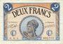 Banknotes Paris (75). Chambre de Commerce. Billet. 2 francs 10.3.1920, série A.4