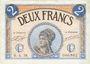 Banknotes Paris (75). Chambre de Commerce. Billet. 2 francs 10.3.1920, série A.58