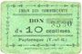 Banknotes Puylaroque (82). Union des Commerçants. Billet. 10 centimes