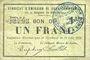 Banknotes Rimogne (08). Syndicat d'Emission. Billet. 1 franc 30.6.1916, série H 2