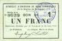 Banknotes Rimogne (08). Syndicat d'Emission. Billet. 1 franc 30.6.1916, série H 4