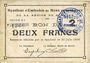 Banknotes Rimogne (08). Syndicat d'Emission. Billet. 2 francs 30.6.1916, série J 1