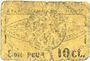 Banknotes Roanne (42). Etablissements L. Marot. Laiterie du Forez. Billet. 10 centimes