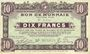 Banknotes Roubaix et Tourcoing (59). Billet. 10 francs du 27.3.1917, 9e série. N° 3550