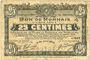 Banknotes Roubaix et Tourcoing (59). Billet. 25 centimes 21.4.1917, 10e série, n° 527