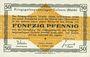 Banknotes Allemagne. Golzern. Kriegsgefangenenlager. Billet. 50 pf 1.2.1916