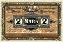Banknotes Crossen. Inspektion der KGL im Bereich des XIII. Armeekorps. Billet. 2 mark 1.10.1917