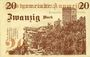 Banknotes Annweiler. Stadt. Billet. 20 mark 5.11.1918