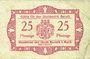 Banknotes Baruth. Stadt. Billet. 25 pfennig n.d.