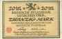 Banknotes Bayern. Bayerische Staatsbank. Nürnberg 1918. Billet. 20 mark 15.11.1918