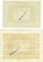 Banknotes Bensheim. Stadt. Billets. 5 mark, 20 mark n.d. - 1.2.1919