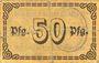 Banknotes Berchtesgaden. Marktgemeinde. Billet. 50 pfennig 18.7.1917