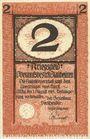 Banknotes Blaubeuren. Amtskörperschaft. Billet. 2 mark n.d. - 1.8.1919