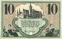 Banknotes Chemnitz. Finanzvereinigung Chemnitzer Industrieller. Billet. 10 mark 18.11.1918