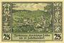 Banknotes Lähn (Wlen, Pologne). Städtische Sparkasse. Billet. 25 pf (1922), avec signature, sans date