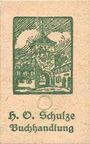 Banknotes Lichtenfels a. Main, H. O. Schulze Buchhandlung, billet, 10 pf (1920), lettre O