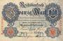 Banknotes Allemagne. Billet. 20 mark 7.2.1908, D série A