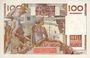 Banknotes Banque de France. Billet. 100 francs jeune paysan, 2.11.1951