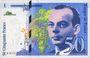 Banknotes Banque de France. Billet. 50 francs , Saint-Exupéry, 1992 (type 1992 - sans mouton)