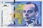 Banknotes Banque de France. Billet. 50 francs (Saint-Exupéry), 1994, modifié