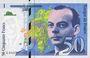 Banknotes Banque de France. Billet. 50 francs (Saint-Exupéry), 1999, modifié