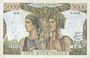 Banknotes Banque de France. Billet. 5000 francs Terre et Mer 1.2.1951