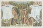 Banknotes Banque de France. Billet. 5000 francs, Terre et Mer, 1.2.1951