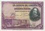 Banknotes Espagne. Banque d'Espagne. Billet. 50 pesetas 15.8.1928