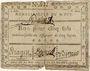Banknotes Saint Puy. Bon pour 5 sols 10.5.1792