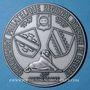 Coins Alsace 40e anniversaire du Groupement régional philatélique d'Alsace & Belfort 1987 médaille uniface