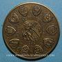 Coins Alsace. Commémoration de la Décapole. 1988. Médaille en bronze. 42,2 mm. Gravée par F. Steiner
