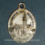 Coins Alsace. Friesenheim. Souvenir de Notre Dame de Neunkirch (fin 19e–début 20e). Médaille laiton arg.