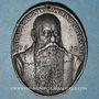 Coins Alsace. Jean-Jacques Waldner de Freundstein (1554-1619). 1612.  Médaille étain (surmoulage)