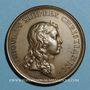 Coins Alsace-Lorraine. Prise de Belfort 1654. Médaille bronze jaune. Frappe postérieure (avant 1830)